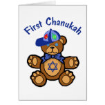 Baby's First Chanukah Greeting Card