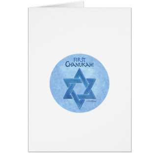 Baby's First Chanukkah Greeting Card