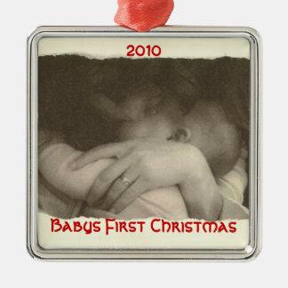 Babys First Christmas 2010 Christmas Ornament