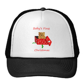 Baby's First Christmas Hats