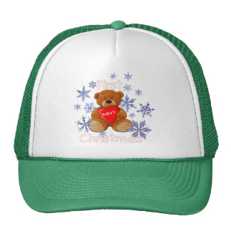 Baby's First Christmas Trucker Hat