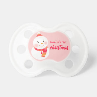 Baby's First Christmas | Custom Baby Pacifier