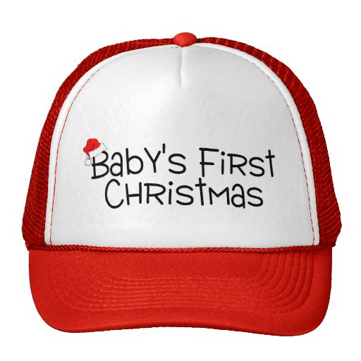 Babys First Christmas Hats