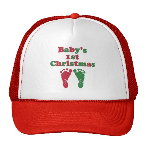 Baby's First Christmas Hat