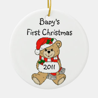 Baby's First Christmas Ornament 2011