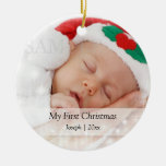 Baby's First Christmas Personalised Photo Template