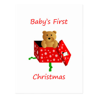 Baby's First Christmas Post Cards