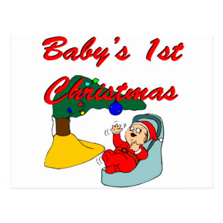 Baby's First Christmas Post Card