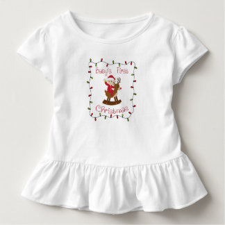 Babys first Christmas Toddler T-Shirt