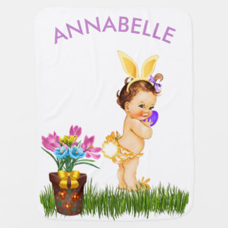 Baby's First Easter Blanket