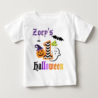 Babys First Halloween Shirt w Pumpkin