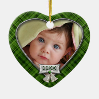 Baby's First Photo Frame Ceramic Ornament