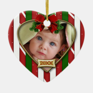 Baby's First Photo Frame Christmas Tree Ornament