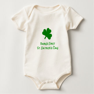 Baby's First St. Patrick's Day Bodysuit