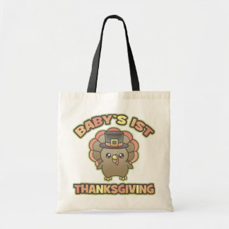 Baby's First Thanksgiving Tote Bag