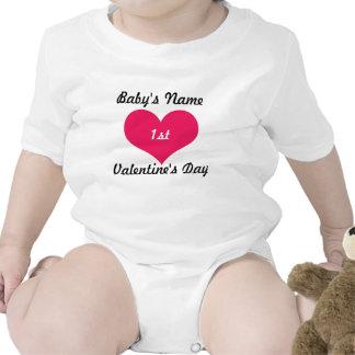 Baby's First Valentines Day Bodysuit