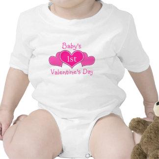Baby's First Valentine's Day T-shirt