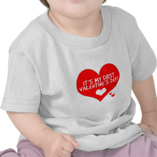 Baby's First Valentine's Day Shirt
