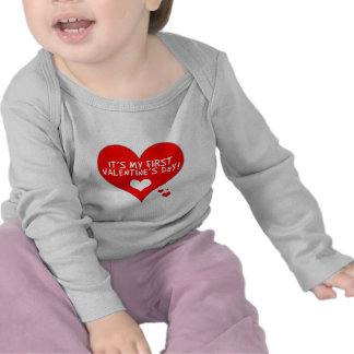 Baby's First Valentine's Day Tshirt