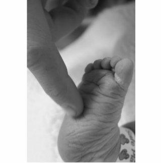 Baby's Foot Standing Photo Sculpture