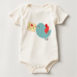 Baby's Love Letter - Organic Romper Baby Bodysuit