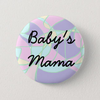 Baby's Mama Baby Shower Button