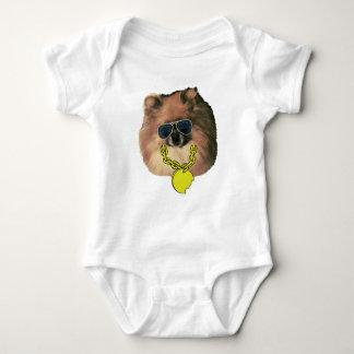 Baby's Pomeranian Bodysuit