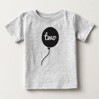 Baby's Second Birthday Shirt | Gray