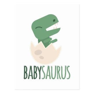 Babysaurus Postcard