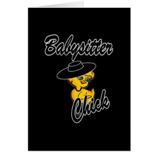 Babysitter Chick #4 Card