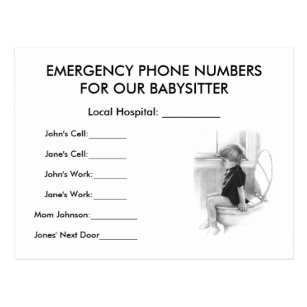 emergency numbers invitations stationery zazzle au