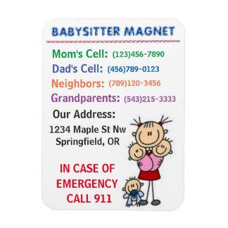 Babysitter Magnet