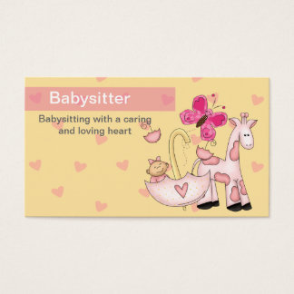 Babysitting Business Cards