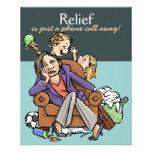 Babysitting Child care Mother's helper promo card Full Color Flyer
