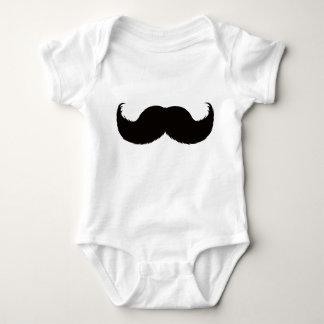Babysuit  moustache boy baby bodysuit