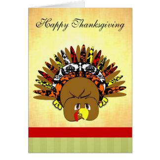 babyturkeycolorsdamaskcircles greeting card