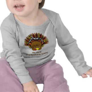 babyturkeycolorsdamaskcircles tshirts