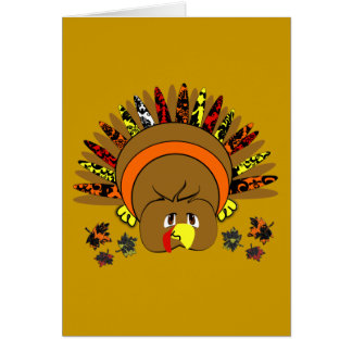 babyturkeycolorsdamaskleaves2 greeting cards