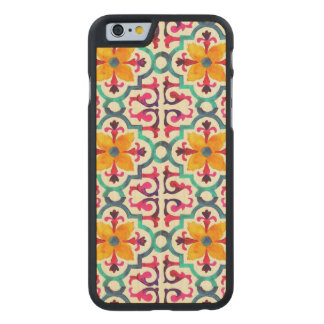 Bacardi Spanish Tile Carved Maple iPhone 6 Case