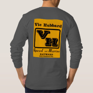 BACC Vic Hubbard Long Sleeve Dark Gray T-Shirt