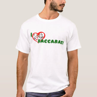 Baccarat Lover's Basic T-shirt