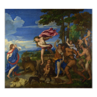 Bacchus and Ariadne by Titian Poster