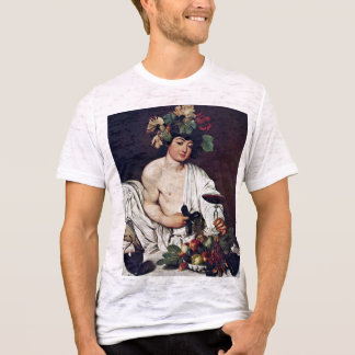 Bacchus By Michelangelo Merisi Da Caravaggio T-Shirt