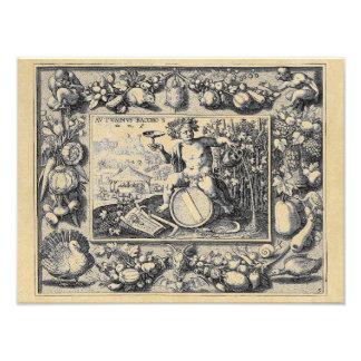 Bacchus God of Wine Photo Print
