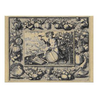 Bacchus God of Wine Poster