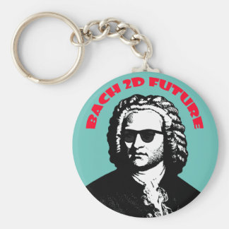 Bach 2D Key Ring