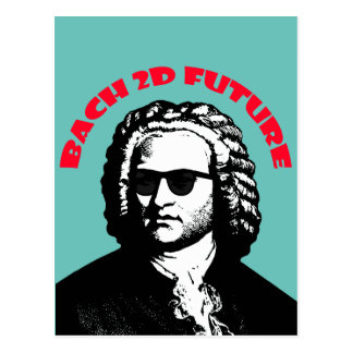Bach 2D Postcard