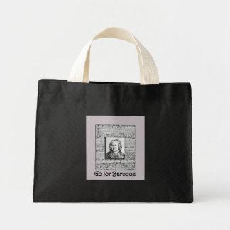 Bach Baroque Music Tote Bag