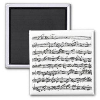 Bach Cello Suite Magnet