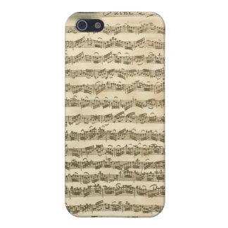 Bach Cello Suite Manuscript iPhone 4 Case